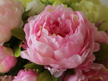 Artificial Bouquet of Peonies for Wedding