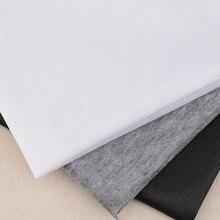 100 см 25 г/45 г белый серый черный нетканый материал прокладок и подкладок железа на шитье пэчворк Односторонний клей 1 шт