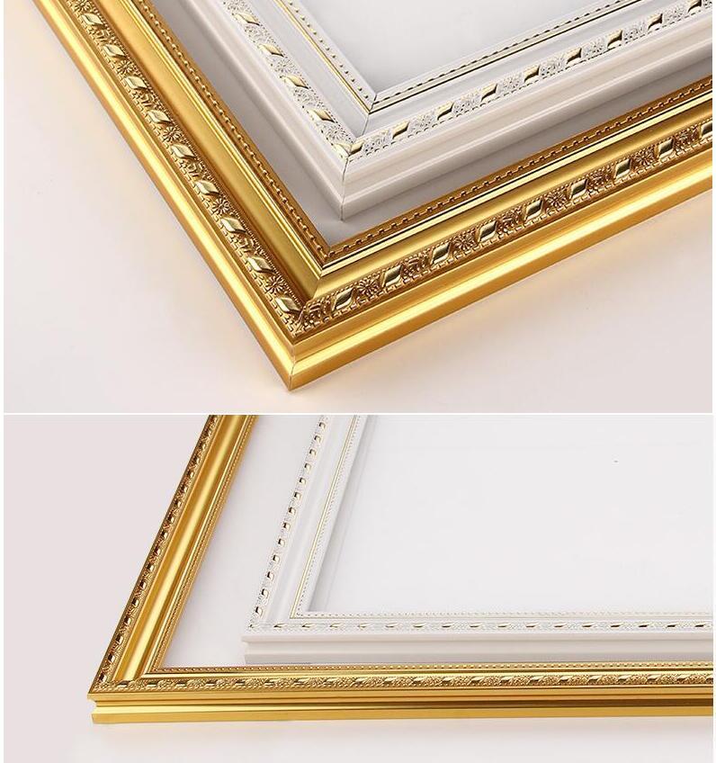 Camilla De Madera unids 1 pieza diy pintura al óleo diamante mosaico grueso marco de madera pintura de pared marco de foto marco interior pegatina ZC202