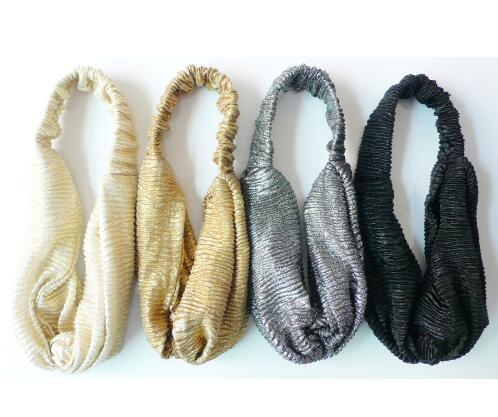 dad97045ff1 10PCS 2016 New Glitter Elastic Stretch Twist Headband Turban Headwrap  Headwear Women Bandanas Twist Hair Bands Turbante-in Women s Hair  Accessories from ...