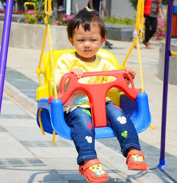 2016 Baby Swings for Children Rocking Chair Outdoor Safety Kids Multifunctional Infant Rocking Seat Swing Bouncer