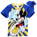 Boys T Shirt Fashion Summer Short Sleeve Big Hero 6 Kids Baby T-shirt Cartoon Print Cotton Children Tops Tees Clothes