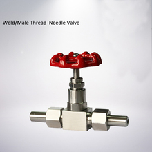 DN6 DN10 DN15 Welded Needle Valve Flow Control