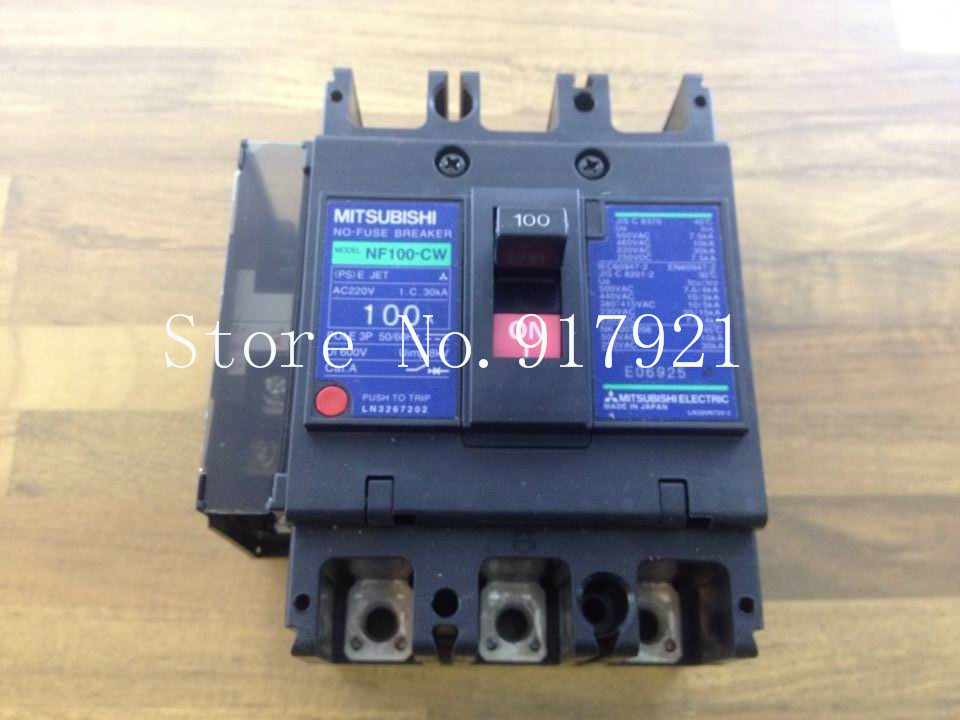 [ZOB] ORIGINAL 3P100A air switch NF100-CW (original authentic) original ac150xa02