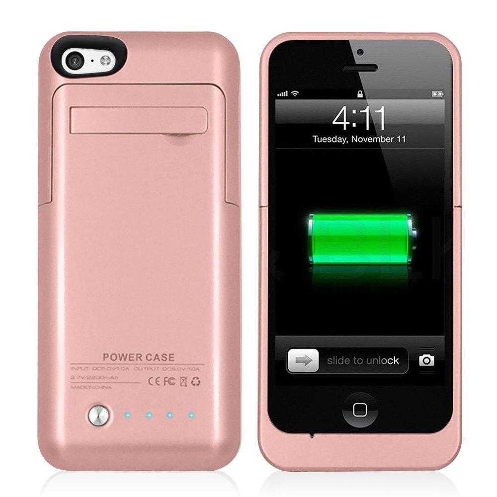 imágenes para Caso Del Cargador de Batería externa para el iphone 5 Caja de Batería 5S para iPhone SÍ Banco de la Energía de Reserva Externa Del Caso Del Cargador para el iphone 5C