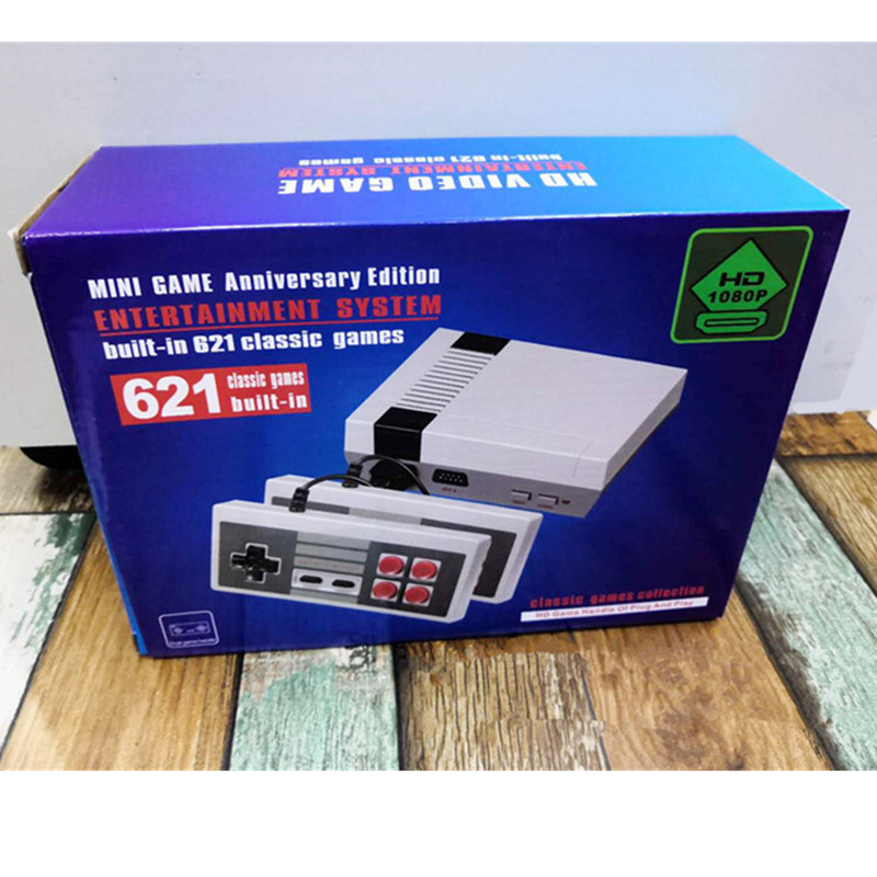 60PCS 621 Games Childhood Retro Mini Classic 4K TV HDMI 8 Bit Video Game Console Handheld Gaming Player image