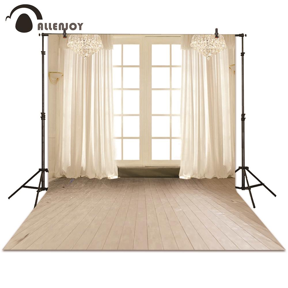 Allenjoy backgrounds photography indoor board window curtain wedding white backdrop photocall photographic photo studio wedding