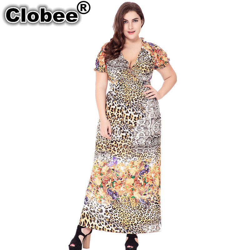 Online Get Cheap Leopard Print Maxi Dress -Aliexpress.com ...