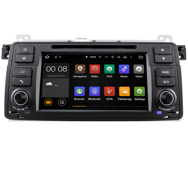 Free Shipping Android 5 1 Car DVD Player with GPS System For BMW E46 M3 1024