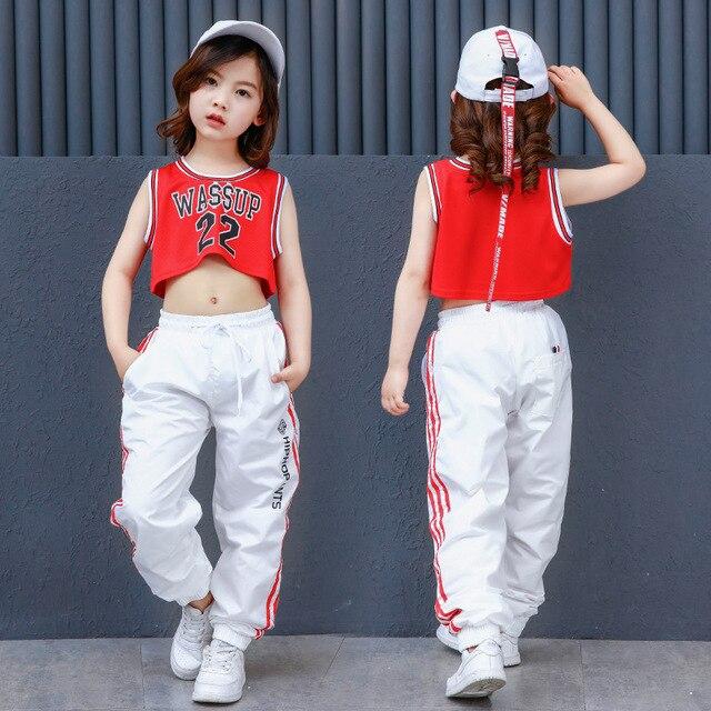 новая мода живот обнажая поп джаз хип хоп одежда для танцев