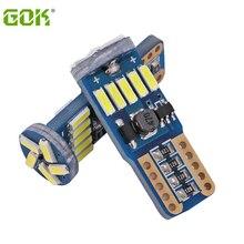 100 шт. W5W T10 15SMD 4014 led canbus Нет Ошибка T10 canbus W5W светодиодный Магистральный светильник двери лампа универсальная Светодиодная лампа для чтения