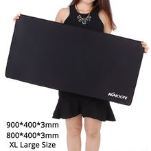 KKmoon Gaming Mouse Pad 900*400*3mm L/XL Large Size Plain Extended Anti-slip Game Mice Pad Desk Mat for lol surprise Comouter(China)