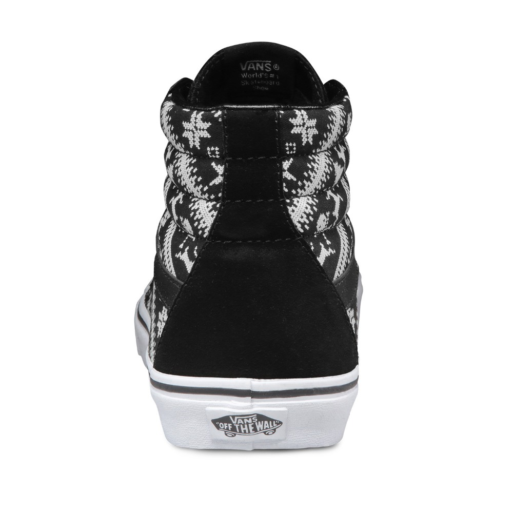 341fb3ce111 Original Vans Shoes Black White Colour Women s High top Trainers Sports  Skateboarding Shoes Breathable Classic Canvas Vans-in Skateboarding from  Sports ...