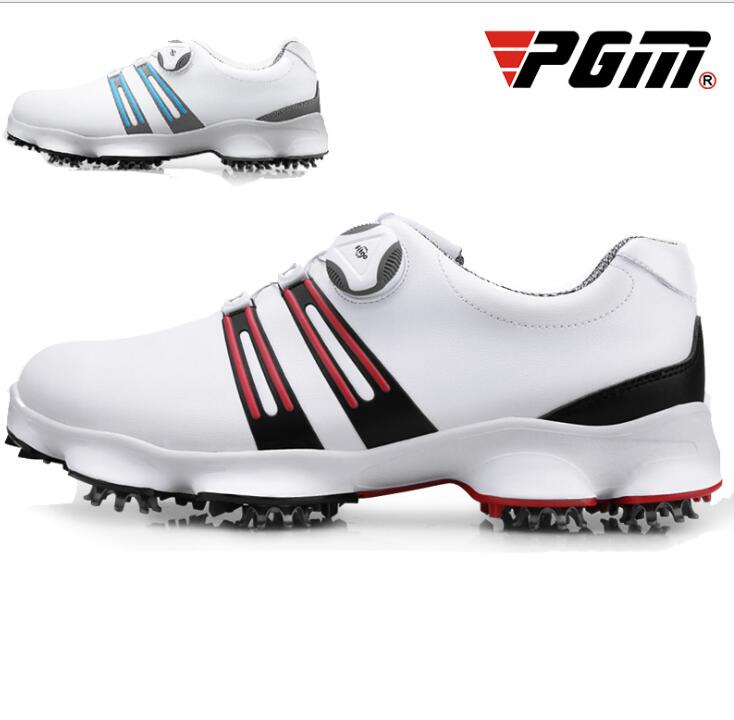 PGM Golf shoes Sneakers Mens Sneakers Rotating Shoelaces Waterproof Wide SolePGM Golf shoes Sneakers Mens Sneakers Rotating Shoelaces Waterproof Wide Sole