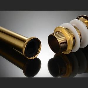 Image 3 - Fabbrica Diretta Euro In Ottone Massiccio Idraulico P Trap Bagno Rubinetto Tubo di Bottiglia di Trappole Per Lavabi e Rifiuti Drainer pop Up di Scarico