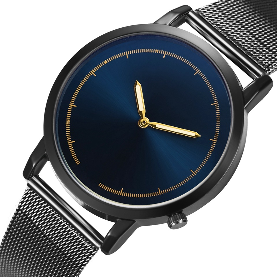 SOXY 2019 Simple Men's Watch Ultra-thin Watch Men Date Business Watch Fashion Business Watch Erkek Kol Saati Relogio Masculino