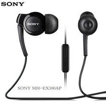 лучшая цена MH-EX300AP In Ear Stereophone BASS Original Xperia Series Earphone for Sony Z 1 2 3 LT MT ST21i 26i 28i 29i Xperia J X Z C Young