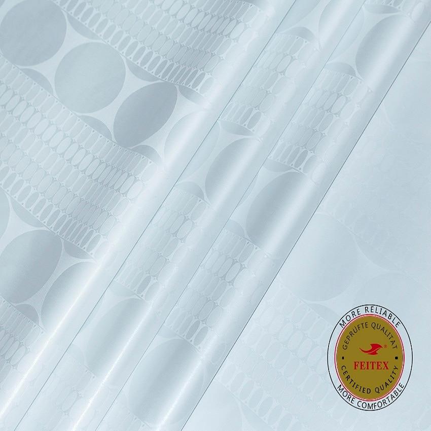 New Arrival African Fabric Bazin Riche Getzner Quality Austria Cotton Material Jacquard Brocade Feitex Textile Fabrics