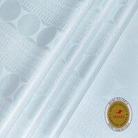 New Arrival African Fabric Orginial Bazin Riche Getzner Quality Austria Cotton Material Jacquard Guinea Brocade Feitex Textile