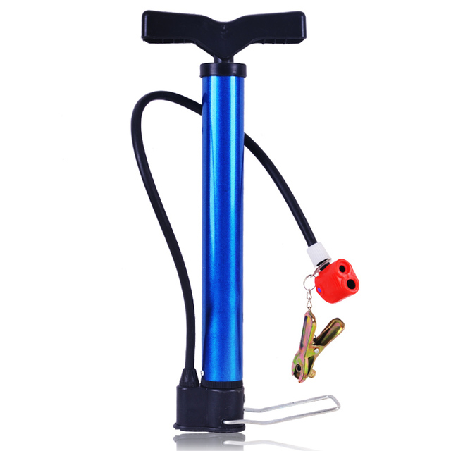 Mini portable high pressure pump bicycle comfortable basketball swimming ring inflatable tube