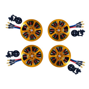 Image 2 - 4pcs 5010 340KV/280KV Brushless Motor +4pcs 40A ESC +4pcs 1555  Propeller for RC Plane