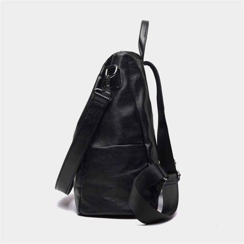 Мода 2017 г. для женщин рюкзак высокое качество Молодежная кожа рюкзаки для подростков обувь девочек женская школьная сумка mochila