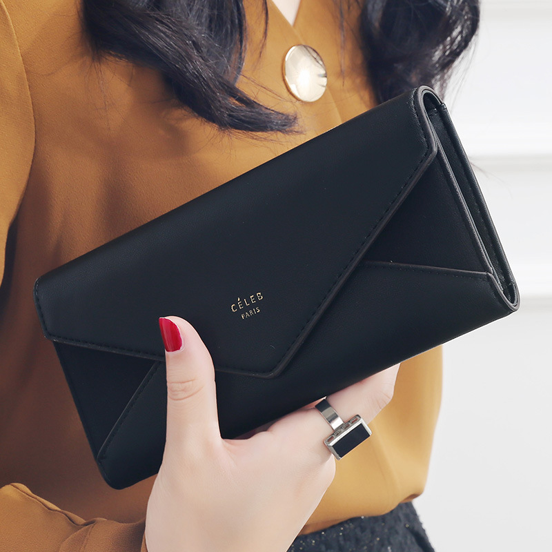 2018 Luxury Brand Designer Leather Wallets Women Long Hasp Coin Purses Clutch Phone Wallets Female Credit Card Holder Money Bags