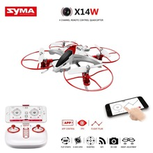 Syma X14W FPV Drone with Built-in Camera HD Live Video Headless Mode 2.4G 4CH 6 Axis Gyro RC Quadcopter with Altitude Hold