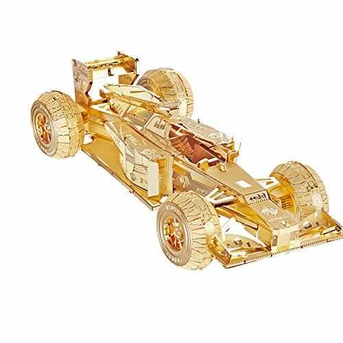 PIECECOOL RACEWAGEN P052-G/S 3D Metalen Montage Model Puzzel DIY Speelgoed Creatieve gift woninginrichting Collection