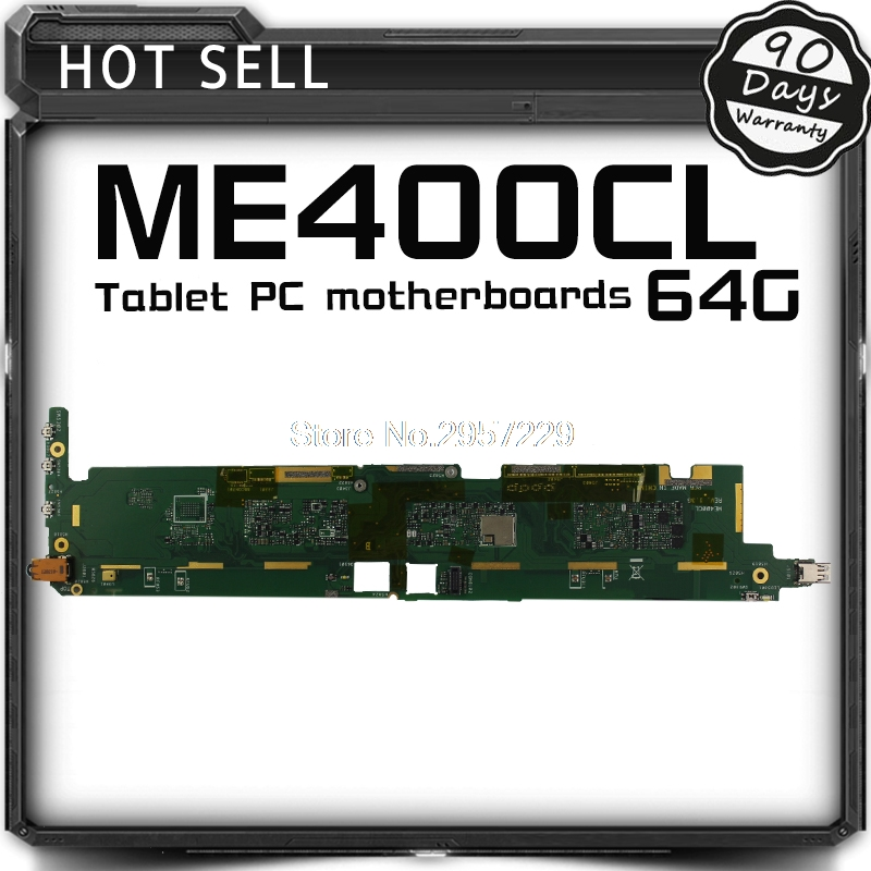 Original Tablet motherboard Logic board System Board For Asus VivoTab Smart ME400CL ME400C 64GB Fully Tested Work Well motherboard for ci7zs 2 0 370 industrial board ci7zs 2 0 original 95%new well tested working one year warranty