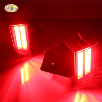 Led Rear Driving Lights For Mitsubishi Pajero Sport 2015 2016 Led Brake Lights Rear Bumper Lamp