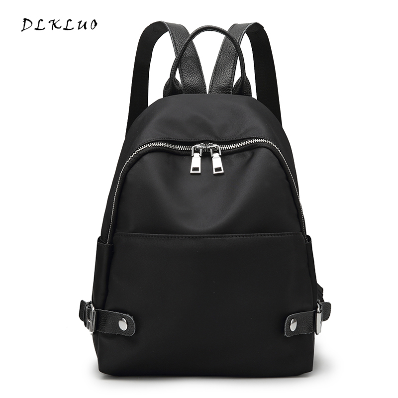 DLKLUO New Fashion Women Oxford light Backpack Women s Backpacks for Teenage Girls Ladies Bags with