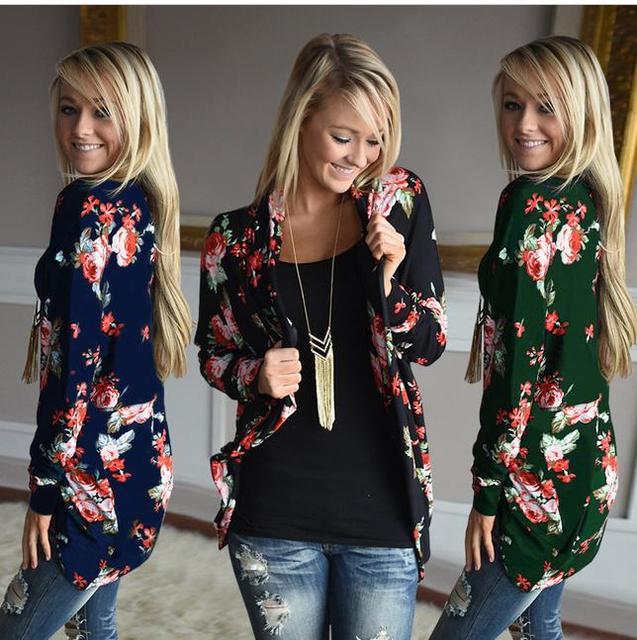 Кардиган 2017 зима мода неправильный Классический женский жакет длинный рукав кардиган сексуальная кофта Осенняя Куртка вязаный женский свитер