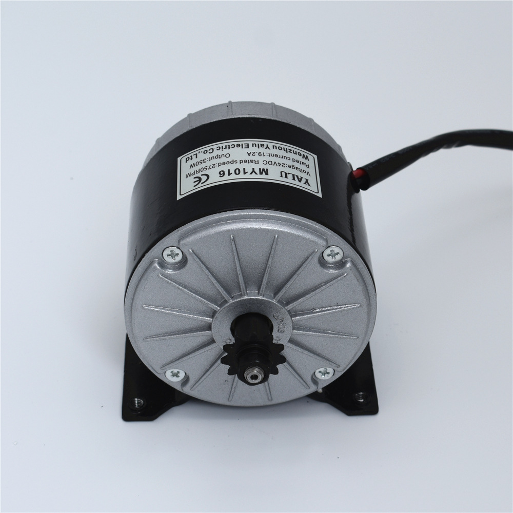 350W DC 24/36V 2750rpm high speed brush motor ,brush motor for electric tricycle, Electric Scooter motor, MY1016 стоимость
