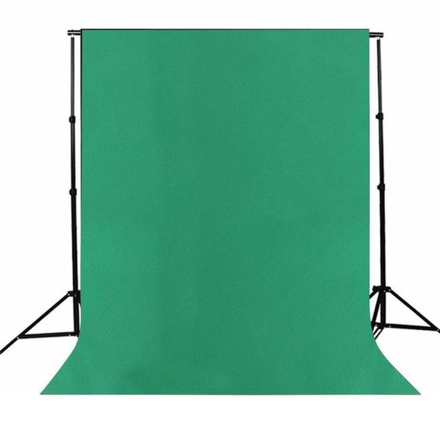 ALLOYSEED Pure Green Color Cotton Photo Background Studio Photography Screen Backdrop Props Non-Woven Cloth 1.6*1m/1.6*2m/1.6*3m