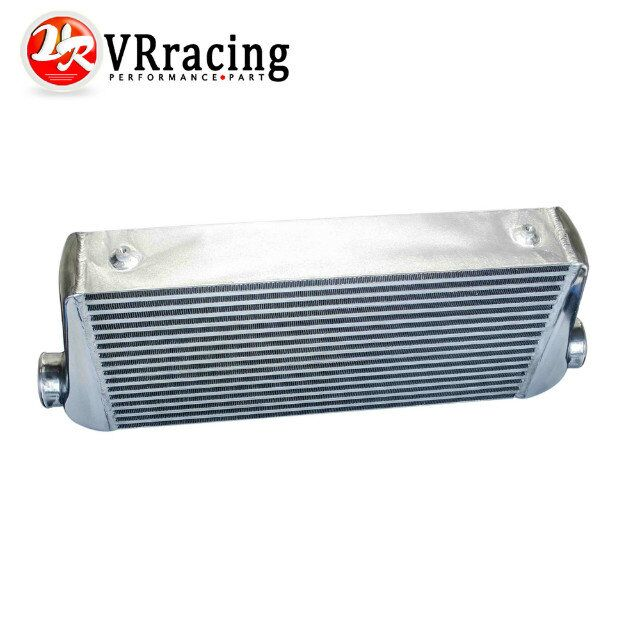 VR RACING - 600*300*100mm Universal Turbo Intercooler bar&plate OD=3.0 Front Mount intercooler VR-IN817-30 31x12x3 inch universal turbo fmic intercooler 3 inch piping kit toyota supra mkiii mk3 7mgte