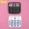Черный цвет новый оригинал корпус главное главная функциональная клавиатуры клавиатуры обложка чехол для Nokia n73, бесплатная доставка