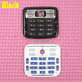 Black Color New Original Housing Main Home Function Keyboards Keypads Cover Case For Nokia N73, Free Shipping