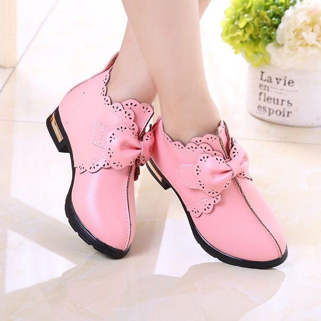 Girls shoes 2017 spring and autumn new shoes big children princess cotton spring section