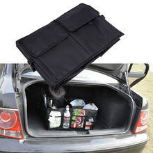 Trunk Stowing Tidying Portable font b Car b font styling Universal 3 Compartments font b Interior