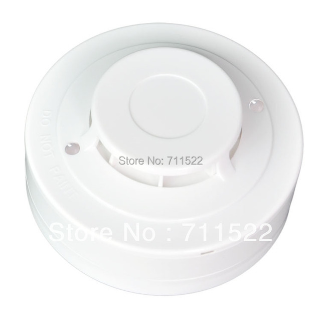 Conventional Heat Detector  2 wire Heat Detector work with any Conventional panel  Differential and Fixed temperature detectors