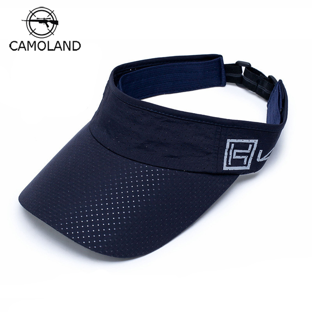 58681a8f5a783 Summer Breathable Empty Top Golf Visor Hat Baseball Cap 2018 New Outdoor  Sports Quick-Drying
