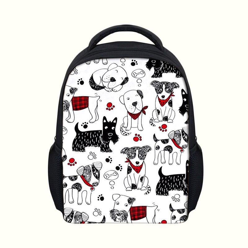 Dog Pattern Preschool Backpacks for Baby Boys Girls Kids Animals Print Kindergarten Children's Haversack Bags Gift mochila Bolsa