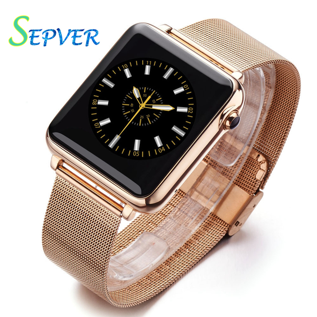 IP67 Waterproof Smart watch L1 Bluetooth Smartwatch Wristwatch Reloj Inteligente for Apple Iphone IOS Android Phone with Hebrew