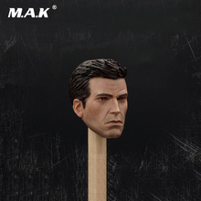 цена на 1:6 Collectible Doll Toys Accessories Batman Arkham Knight Head Carved Bruce Wayne Head Model Toys Figure Accessory