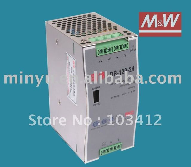 DR-120-12 DIN rail switching power supply