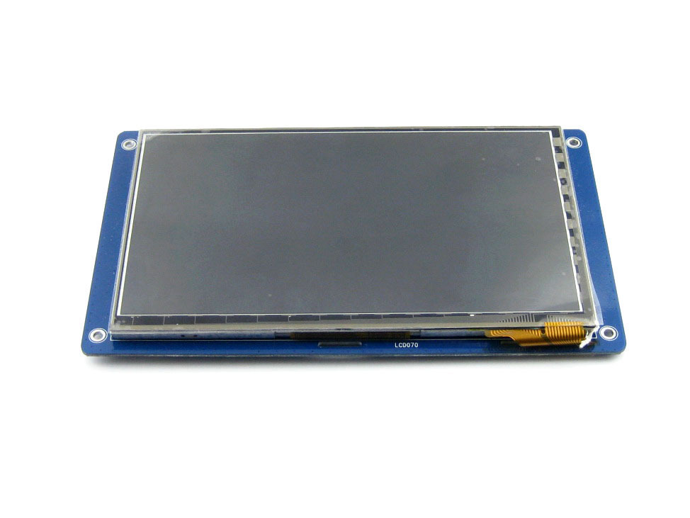 все цены на 7inch Capacitive Touch LCD Display Module 800*480 Multicolor Graphic LCD TFT TTL Screen LCM онлайн