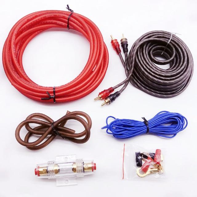 Car audio lautsprecher Verdrahtung kits Kabel Verstärker Subwoofer ...