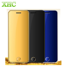 Original ULCOOL V6 Luxury Phone Super Mini Ultrathin Card phone with MP3 Bluetooth Remote Control 2
