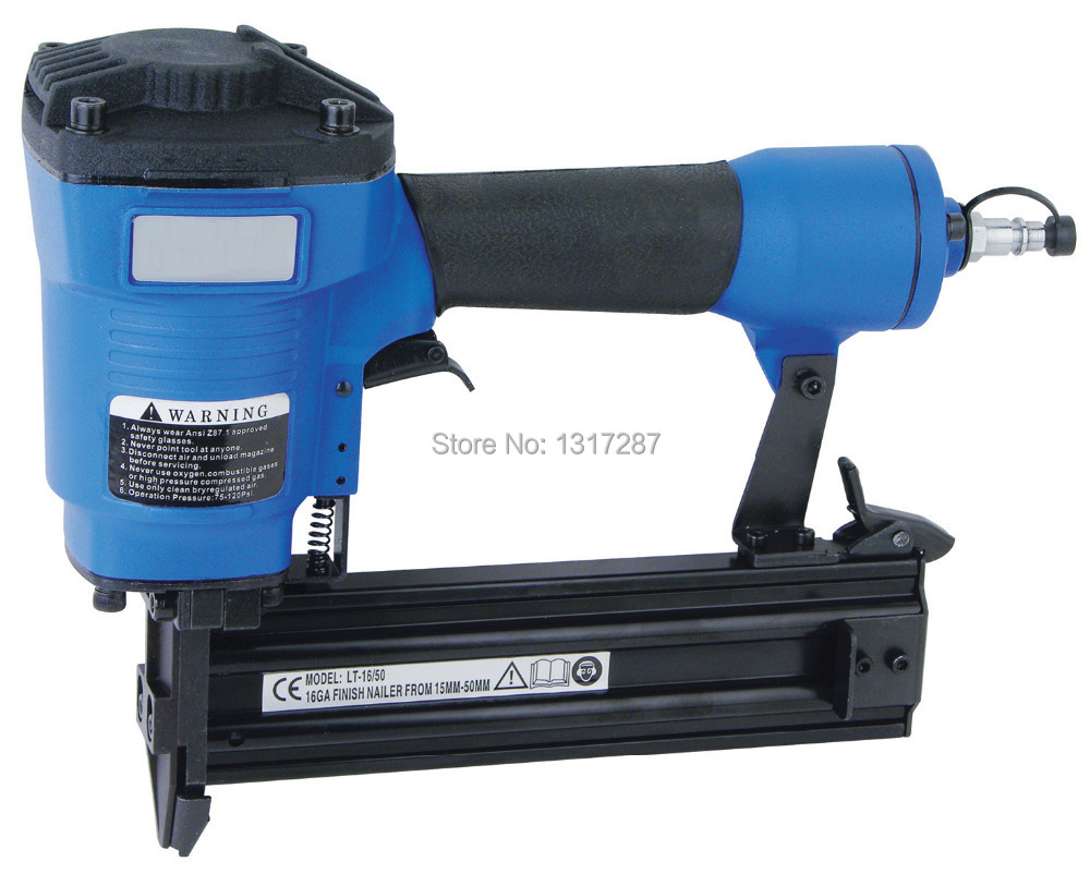 цена на Finish air nailer T50 pneumatic nailer, straight nail 18-50mm Ga16,1.4x1.6mm